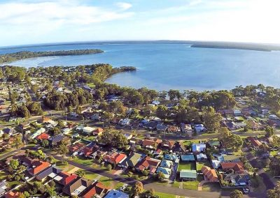 Arial Shot - Jervis Bay
